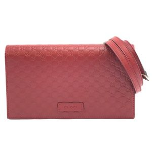 Clutch Guccissima  Leather Cross Body Bag